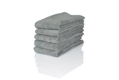 P07266 Microvezel doek grijs 5 stuks