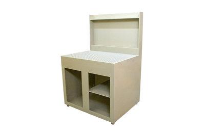 Beitstafel voor beitsen,passiveren en spoelen